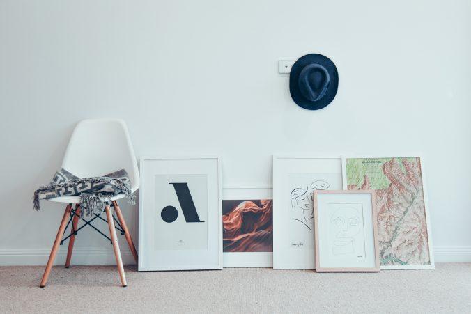 billeder til stuen