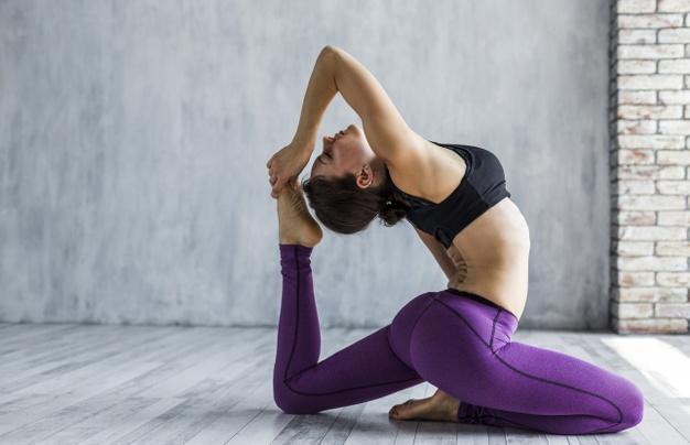 yoga kvinde